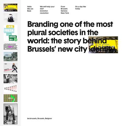 Base Design - International Branding Agency and Communication Experts