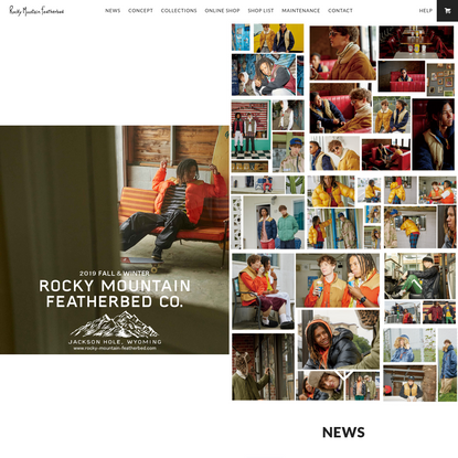 Rocky Mountain Featherbed [Official Site]