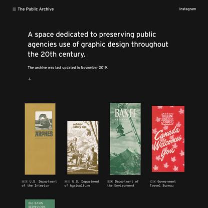 The Public Archive