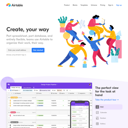 Airtable: Organize anything you can imagine