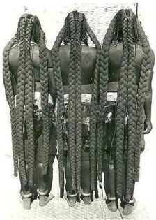 The Mbalantu women in Africa natural hair Tradition (Eembuvi braids)