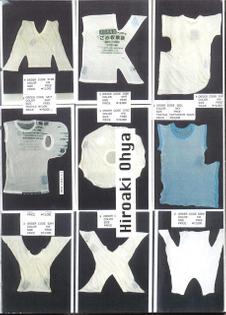 Alphabet T-shirts by Hiroaki Ohya