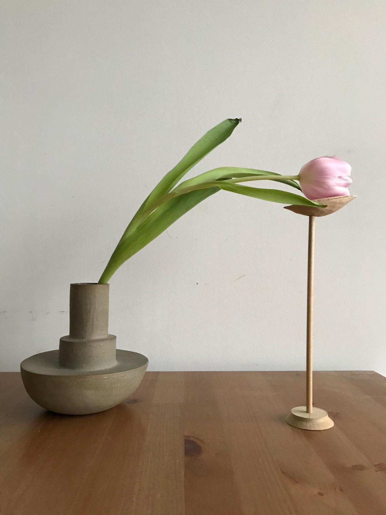 Support for single flower prototype