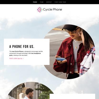 Cyrcle Phone - The Cyrcle Phone