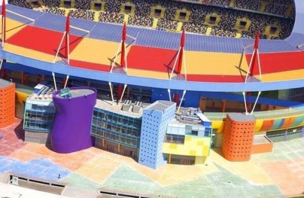 Aveiro Stadium, Aveiro, Portugal, Tomás Taveira (2003)