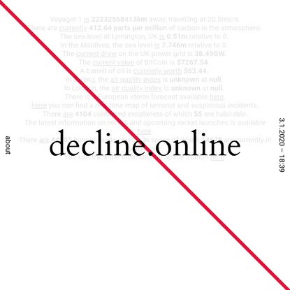 decline.online