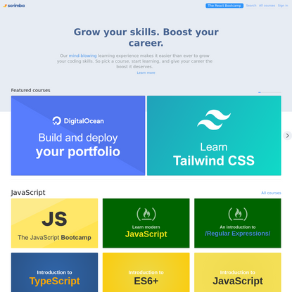 Learn to Code with Interactive Tutorials   Scrimba