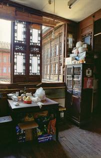 Laoximen – Interior of the Dong residence at Nankongjia Lane