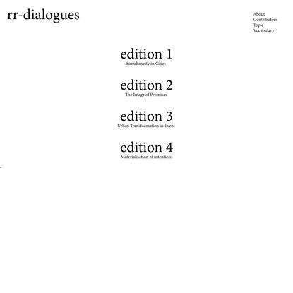 rr-dialogues