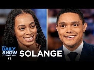 """Solange Knowles - Expressing a Sense of Belonging on """"When I Get Home""""   The Daily Show"""