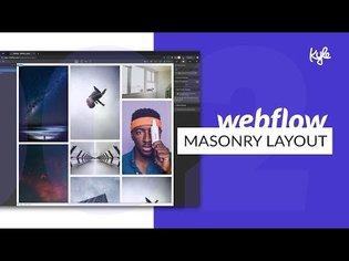 How to Build a Masonry Portfolio Layout (Pinterest Grid) in Webflow