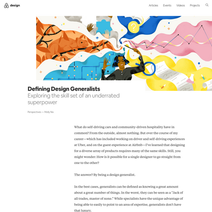 Defining Design Generalists – Airbnb Design