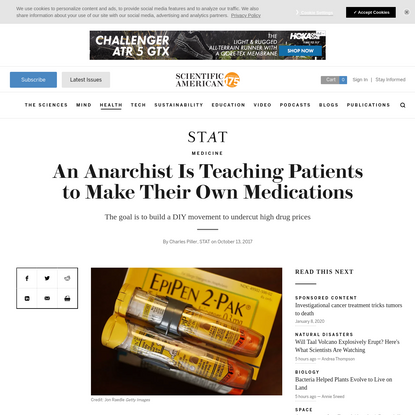 An Anarchist Is Teaching Patients to Make Their Own Medications