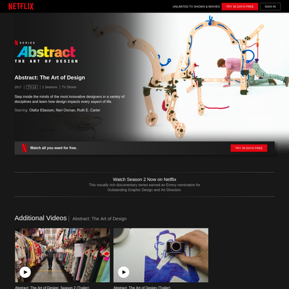 Abstract: The Art of Design | Netflix Official Site
