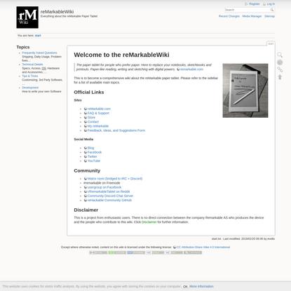 reMarkableWiki