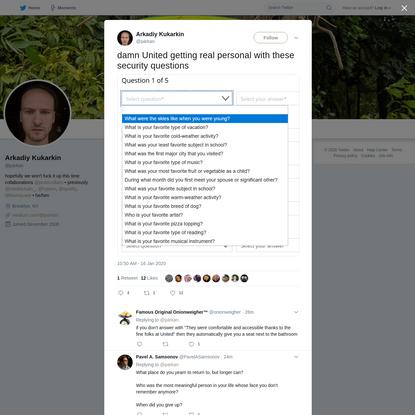 Arkadiy Kukarkin on Twitter