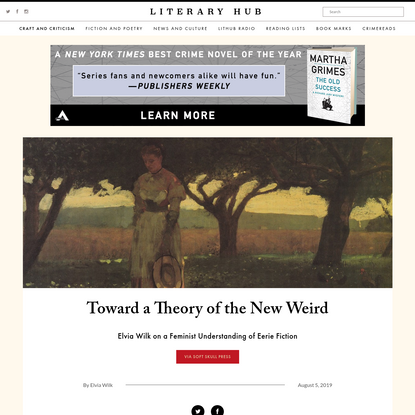 Toward a Theory of the New Weird