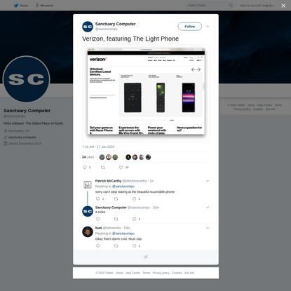 Sanctuary Computer on Twitter