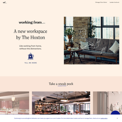 Working From_ is the new Coworking Space by The Hoxton