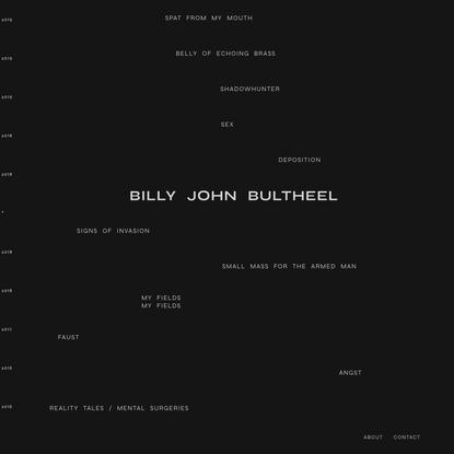 Bill John Bultheel