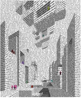 Vito Acconci, City of Words, 1999