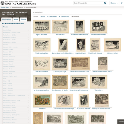 Mid-Manhattan Picture Collection - NYPL Digital Collections