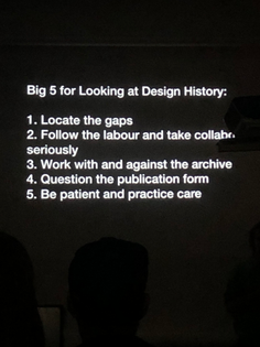 Looking at Design History