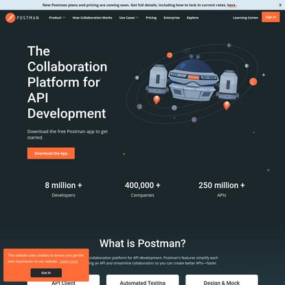 Postman | The Collaboration Platform for API Development