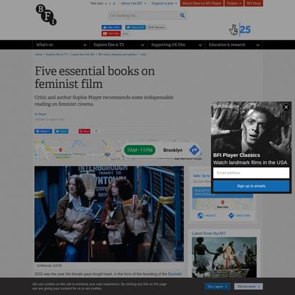 Five essential books on feminist film