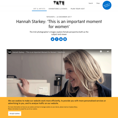Hannah Starkey: 'This is an important moment for women' - TateShots | Tate