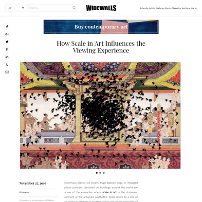 How Scale in Art Influences the Viewing Experience