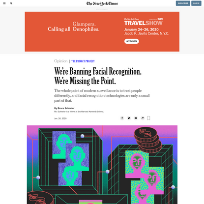 Opinion   We're Banning Facial Recognition. We're Missing the Point.