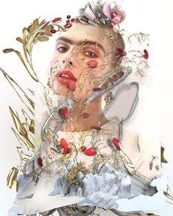 another fashion study on frida kahlo w @kurt__johnson & @richarddowker for @kingkongmagazine online now at kingkongmagazine....
