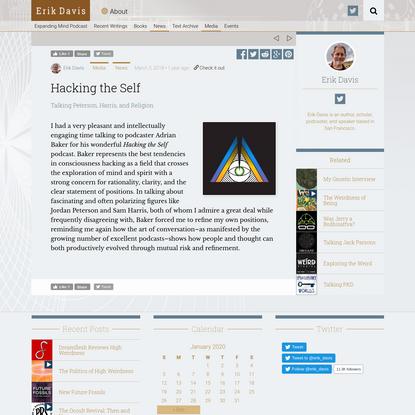 Hacking the Self - Techgnosis
