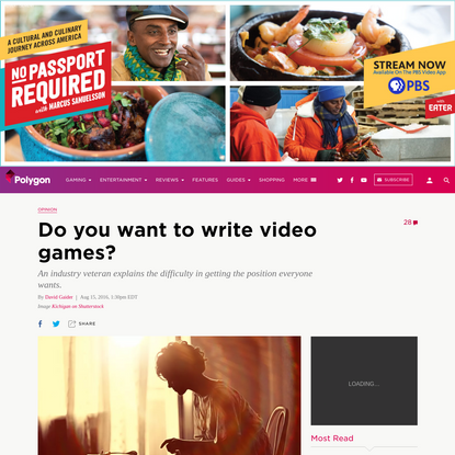 Do you want to write video games?