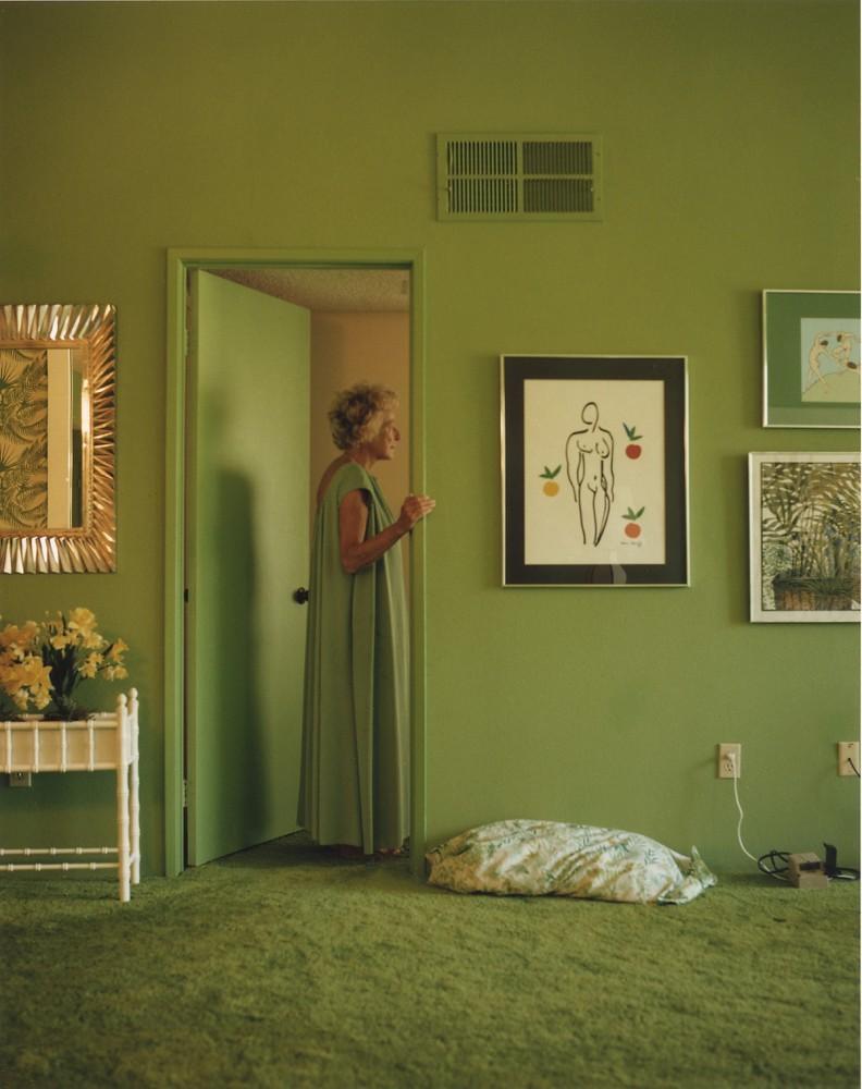Mom in Doorway / 1992 - Larry Sultan