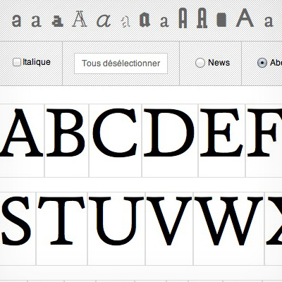 NONPAREILLE / NONESUCH TYPEFACES / TYPE FOUNDRY - Contact
