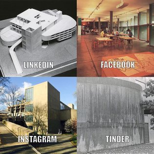 Ok, if we must... a Le Corbusier for every platform. #dollypartonchallenge #ccva #lecorbusier