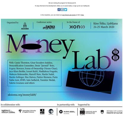 Aksioma - MoneyLab #8