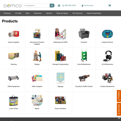 Demco.com - Shop these product categories