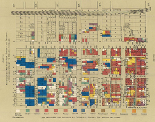 florence kelley, hull house maps