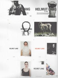 Helmut Lang ads, 1999-2001