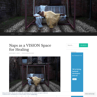 Naps as a VISION Space for Healing