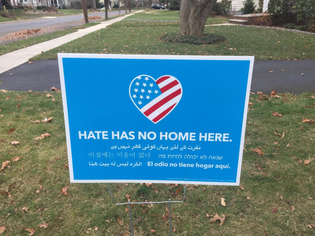 Hate Has No Home Here project