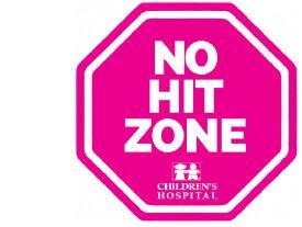 No Hit Zone, Children's Hospital New Orleans