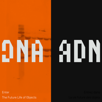 ADN. La vie future des objets. DNA. The Future Life of Objects