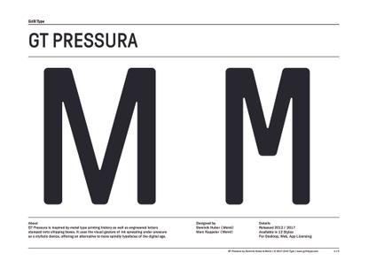 GT Pressura Specimen (Downloadable PDF)