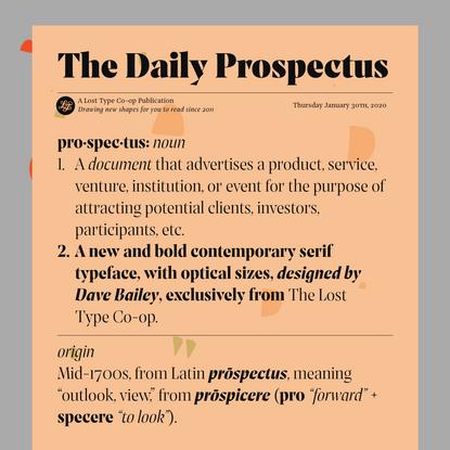 Prospectus (Mini Site)