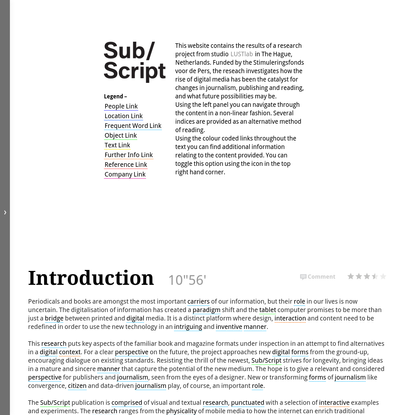 Sub/script