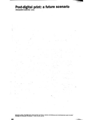 Publishing Manifestos, Michalis Pichler, 2019, extra